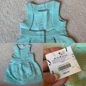 NWT Janie & Jack Dress - Size 12-18 months